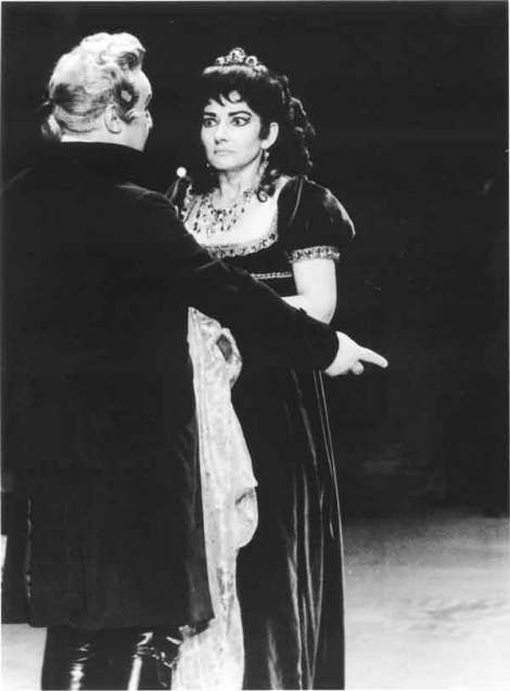 Callas as Tosca