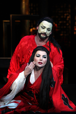Guleghina as Turandot
