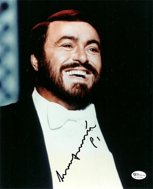 Pavarotti Quotes about... Quotes About Singing