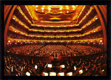 Metropolitan opera new york the last verista for Orchestral house music
