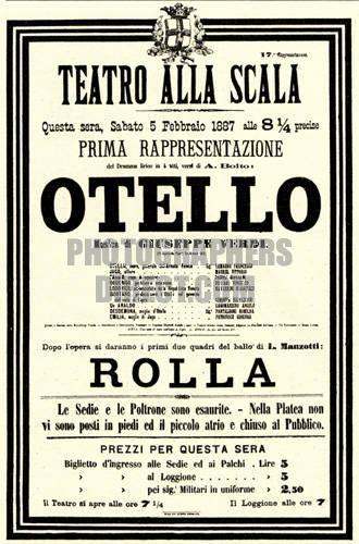 Otello premiere