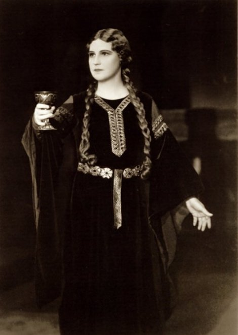 Flagstad as isolde